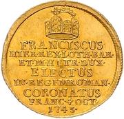 1¼ Ducat (Coronation) – obverse