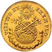 ¾ Ducat (Coronation) – reverse
