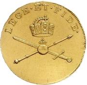 1¼ Ducat (Coronation) – reverse