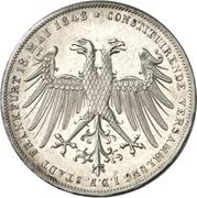 2 Gulden (Imperial election of Friedrich Wilhelm IV.) – obverse