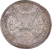 5 Ducat (Silver pattern strike; Coronation) – reverse