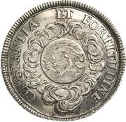 1¼ Ducat (Silver pattern strike; Coronation) – reverse
