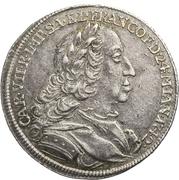 1 Ducat - Karl VII. (Silver pattern strike; Coronation) – obverse