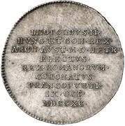 ¾ Ducat (Silver pattern strike; Coronation) – obverse