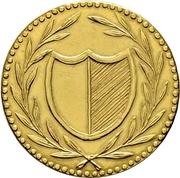 1 Pfennig (Gold pattern strike; Judenpfennig) – obverse
