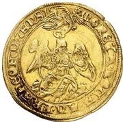 1 Goldgulden (Coronation) – reverse