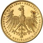 2 Gulden (Constitutional Convention; Gold Pattern) – reverse