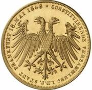 2 Gulden (Archduke Johann; Gold Pattern) – obverse