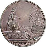 Medal - Founding of the German fleet at Frankfurt (Bronze) – obverse