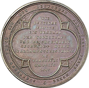 Medal - Founding of the German fleet at Frankfurt (Bronze) – reverse