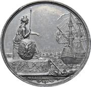 Medal - Founding of the German fleet at Frankfurt (Zinc) – obverse