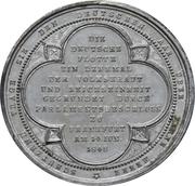 Medal - Founding of the German fleet at Frankfurt (Zinc) – reverse