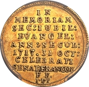 1 Ducat (Bicentennial of the Reformation) – obverse