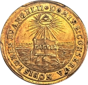 1 Ducat (Bicentennial of the Reformation) – reverse