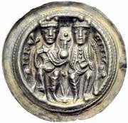 1 Brakteat - Heinrich VI. von Hohenstaufen – obverse