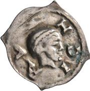 """1 Pfennig """"Vierzipfliger"""" – obverse"""