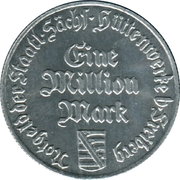 1 Million Mark - Freiberg – obverse