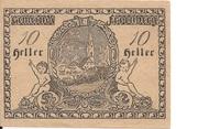 10 Heller (Freinberg) -  reverse
