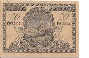20 Heller (Freinberg) -  reverse