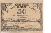 50 Heller (Freinberg) -  obverse