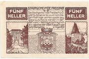 5 Heller (Freistadt) -  obverse