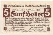 5 Heller (Freistadt) -  reverse