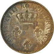 2 Sous - Louis XVIII – obverse