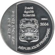 1½ Euro (Le Soleil Royal) – obverse