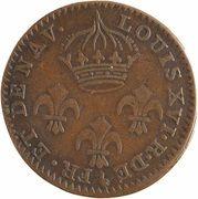 2 Sous - Colony of Cayenne - King Louis XVI – obverse