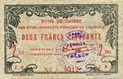 2.50 Francs – obverse
