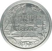 2 Francs (Piefort Essai) – reverse