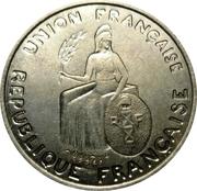 1 Franc (Essai, raised design) – obverse