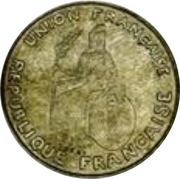 50 Centimes (Essai, raised design) – obverse