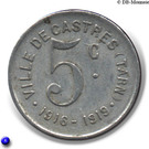 5 Centimes (Castres) – reverse
