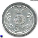 5 Centimes (La Réole) – reverse