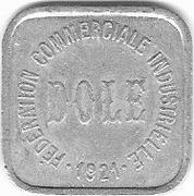 10 Centimes (Dole) – obverse