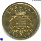 10 Centimes (Annonay) – obverse
