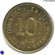 10 Centimes (Annonay) – reverse