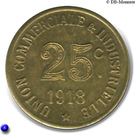 25 Centimes (Annonay) – reverse