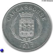 10 Centimes (Carcassonne) – obverse