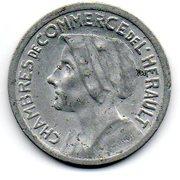 25 Centimes (Herault) – obverse