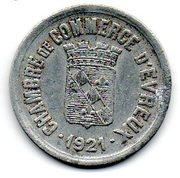25 Centimes (Evreux) – obverse
