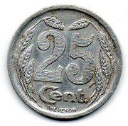 25 Centimes (Evreux) – reverse