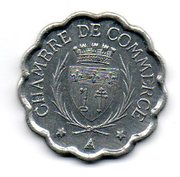 25 Centimes (Narbonne) – obverse