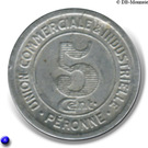 5 Centimes (Péronne) – reverse