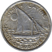 25 Centimes (Toulouse) – obverse