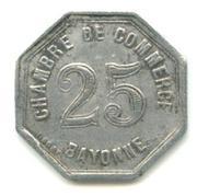 25 Centimes (Bayonne) – reverse