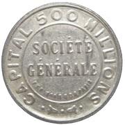 5 Centimes (Société Générale) – obverse