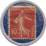 10 Centimes (Société Générale) – reverse