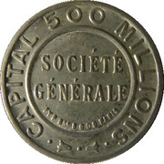 25 Centimes (Société Générale) – obverse